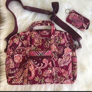 NEW Vera Bradley Carson Shoulder Bag w FREE GIFT